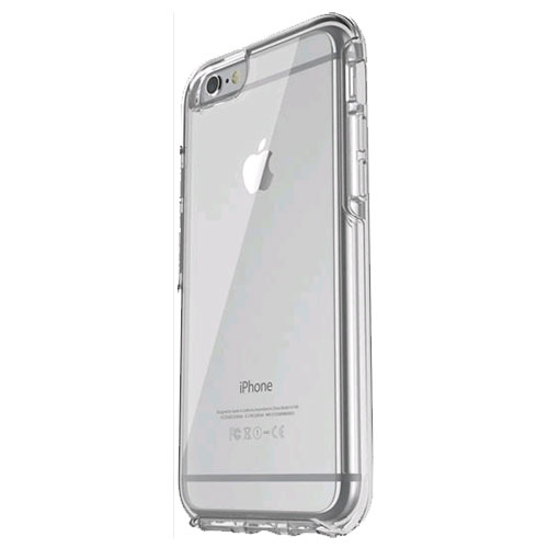 best loved 1a3b7 c8574 OtterBox Symmetry Case for Apple iPhone 6/6s - Clear