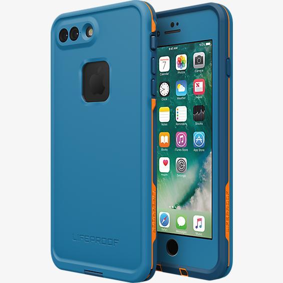 best service 03bbe 749d6 LifeProof Fre Waterproof Case for iPhone 7 - Base Camp Blue (Cowabunga  Blue/Wave Crash/Mango Tango)