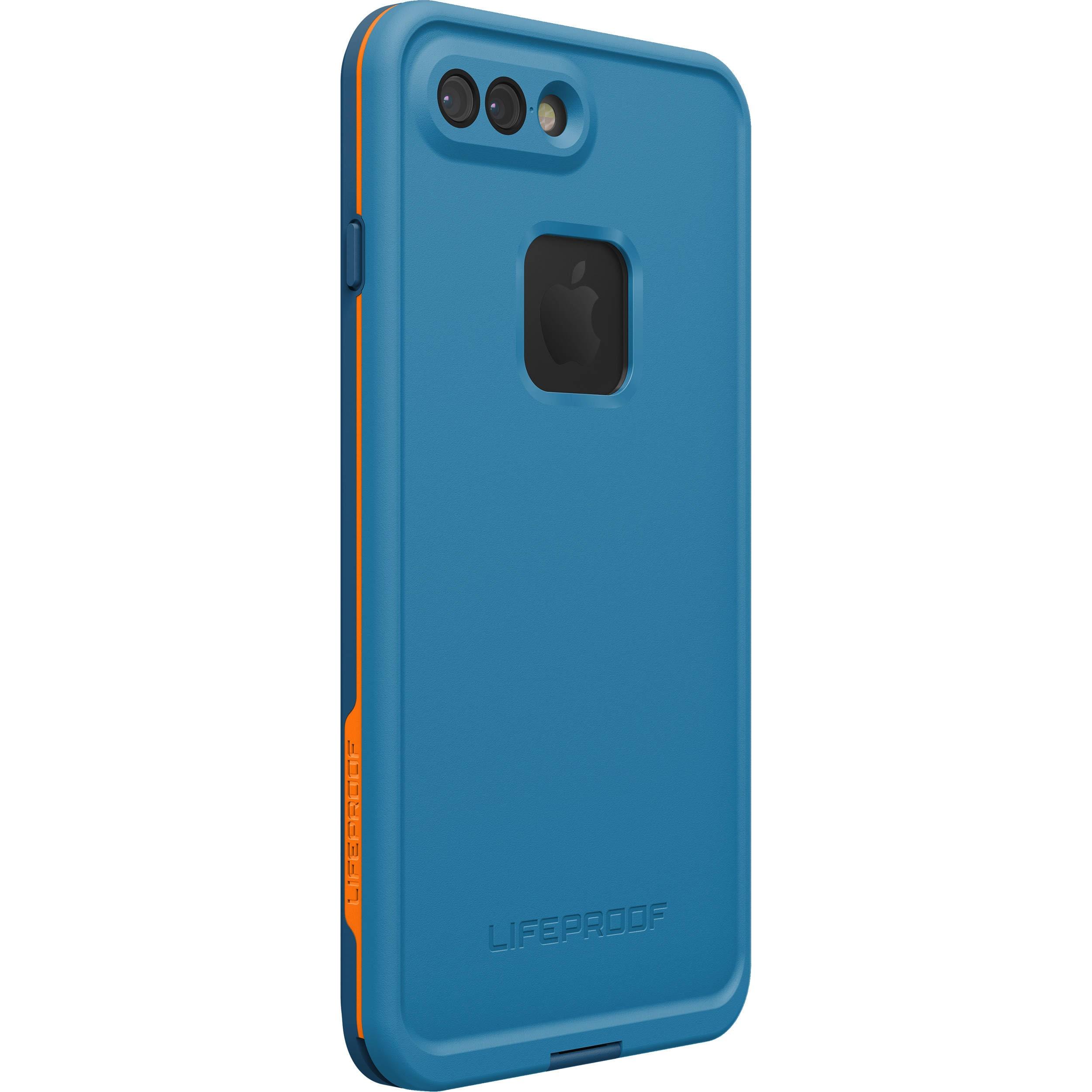 competitive price 0b7df c9f1a LifeProof Fre Waterproof Case for iPhone 7 Plus - Base Camp Blue TWPP  (COWABUNGA BLUE/WAVE CRASH/MANGO TANGO)