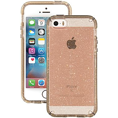 0cacbfcd8a2 Speck CandyShell Case for iPhone 5/5s/SE - Clear Gold Glitter