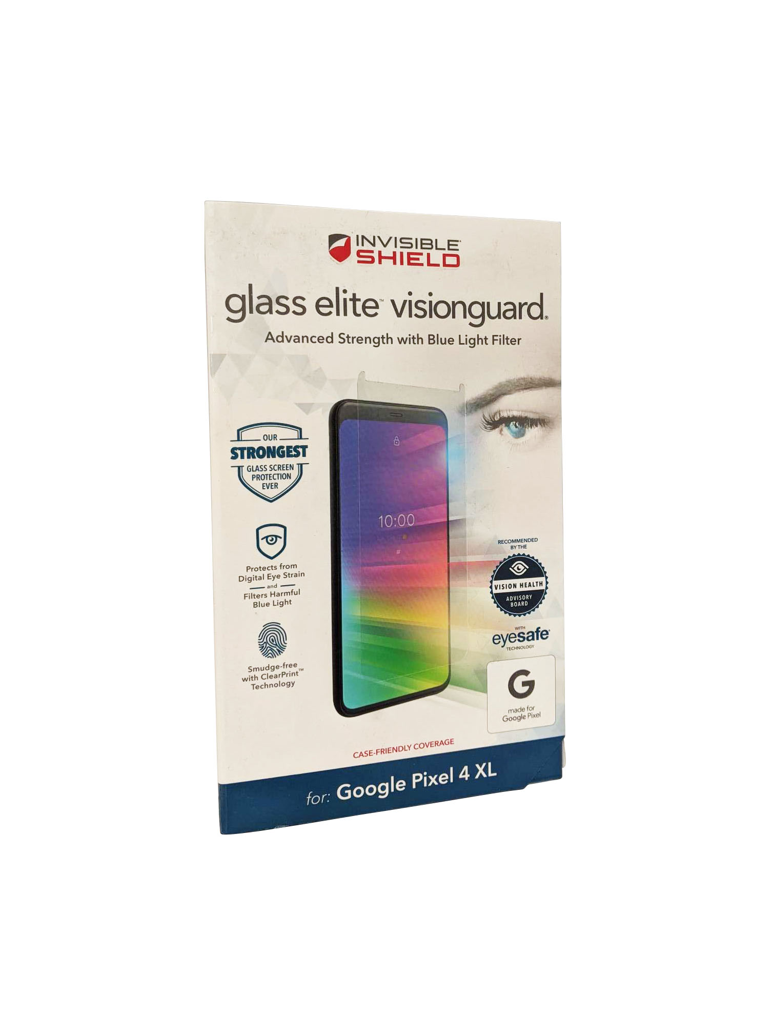 ZAGG for Pixel 4 XL InvisibleShield Glass Elite VisionGuard Screen Protector - Clear