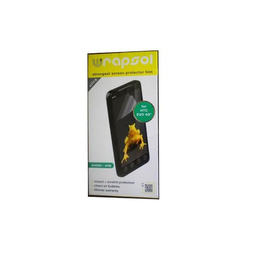 Wrapsol Ultra Screen Protector for HTC EVO 4G (Screen-Only)