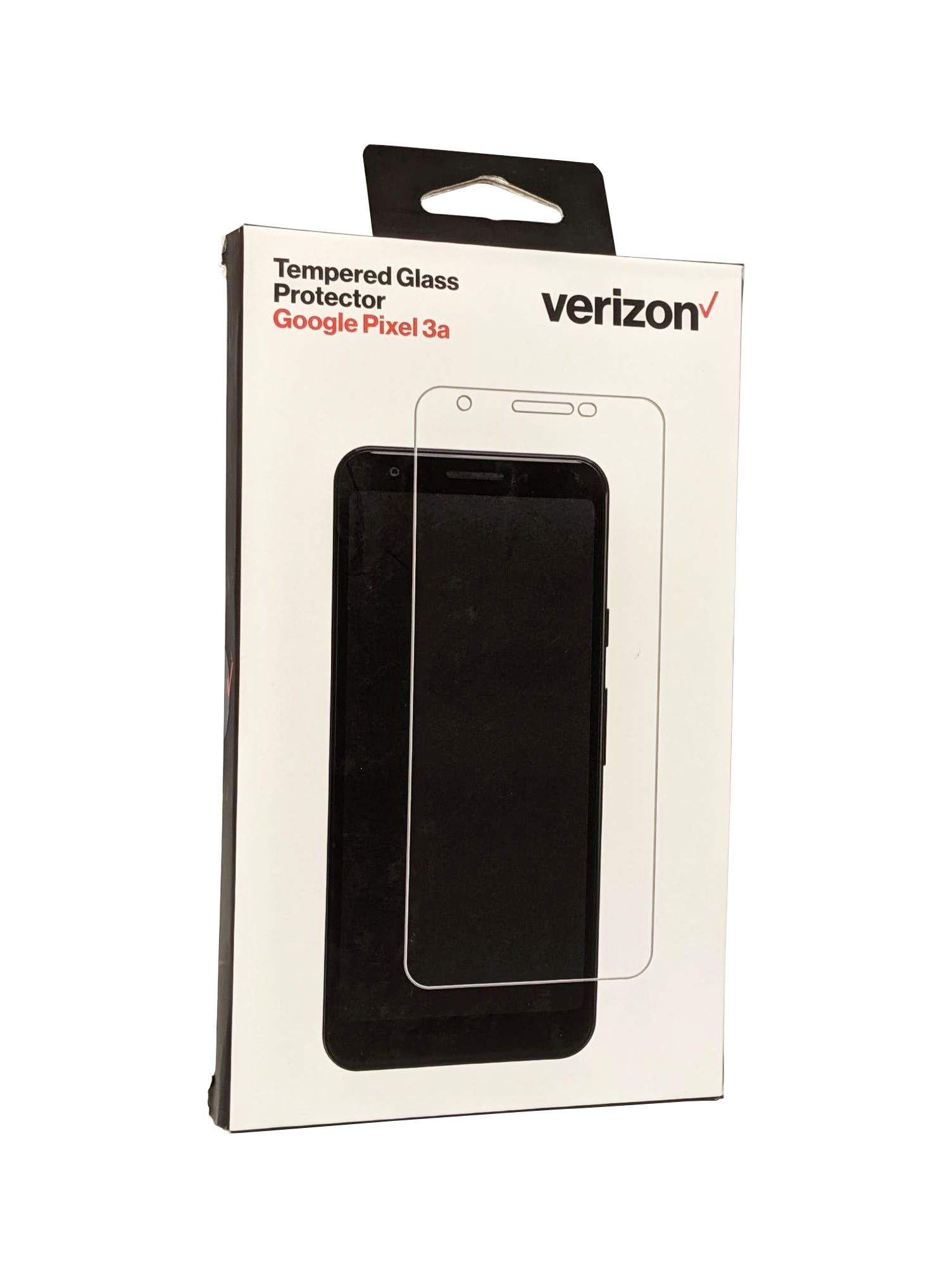 Verizon Tempered Glass Screen Protector for Pixel 3a - Clear