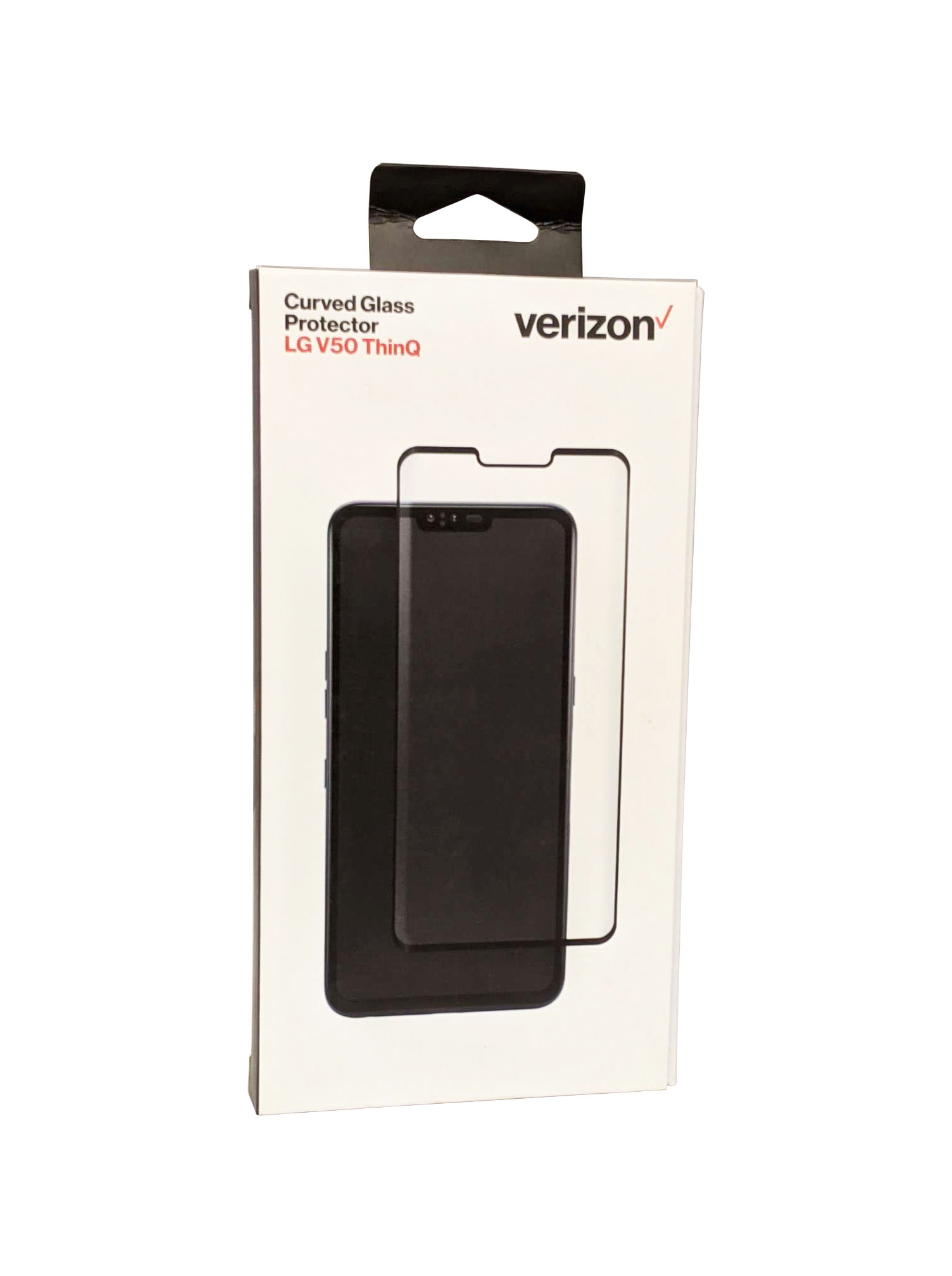 Verizon Curved Tempered Glass Screen Protector for LG V50 ThinQ