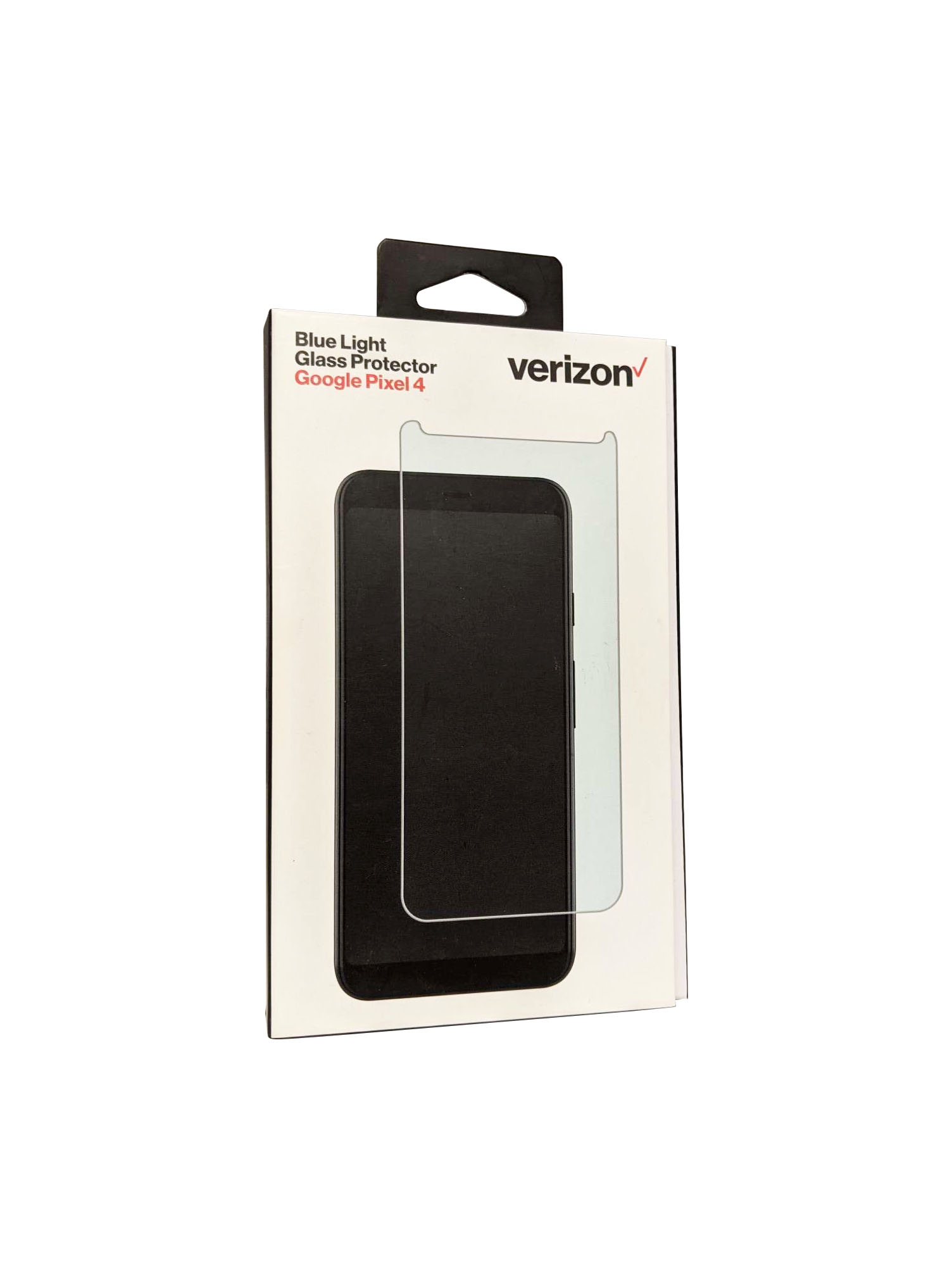 Verizon Bluelight Tempered Glass for Pixel 4 Screen Protector - Clear