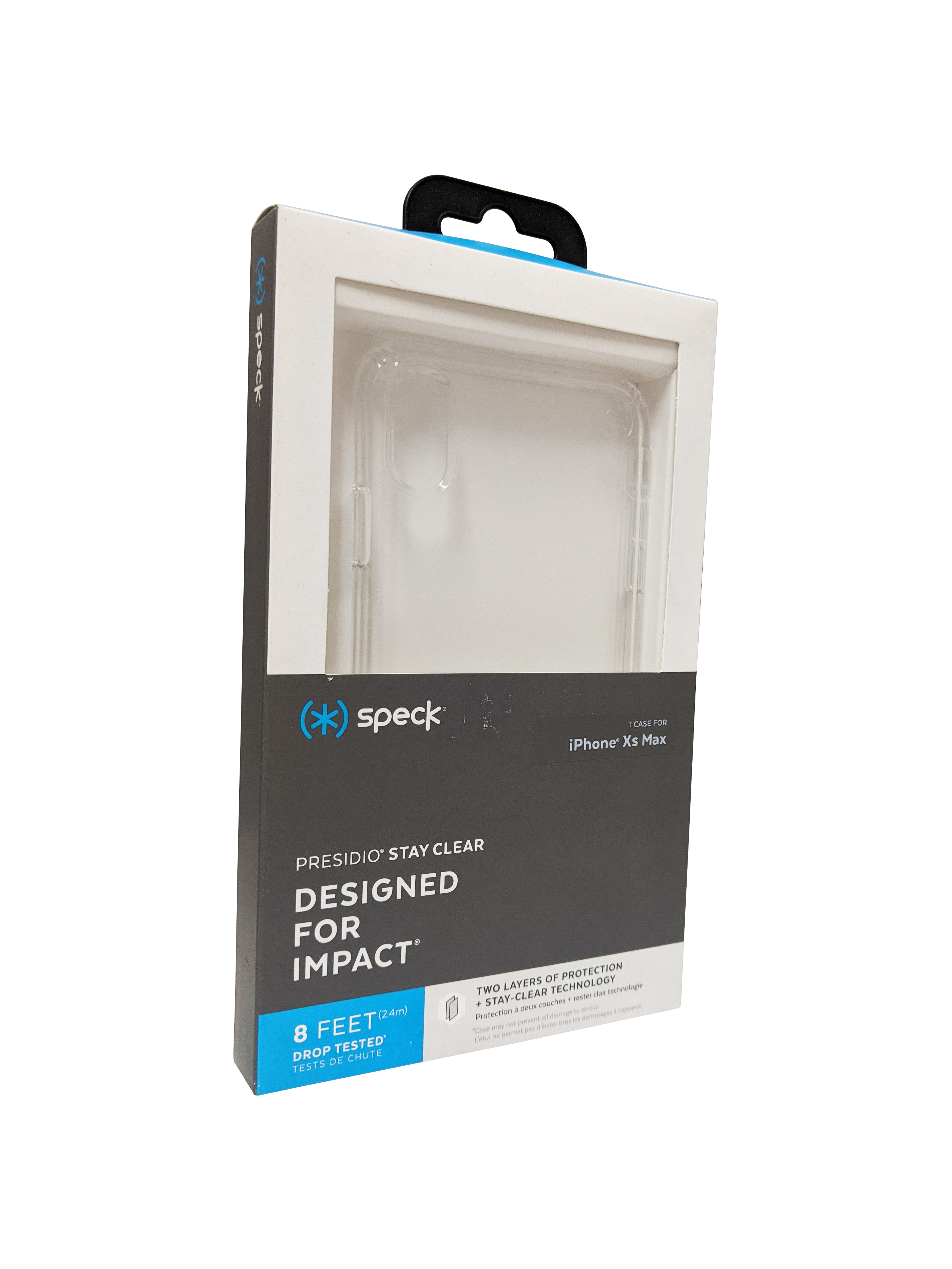 Speck Presidio Stay Clear Case for iPhone XS Max - Clear/Clear