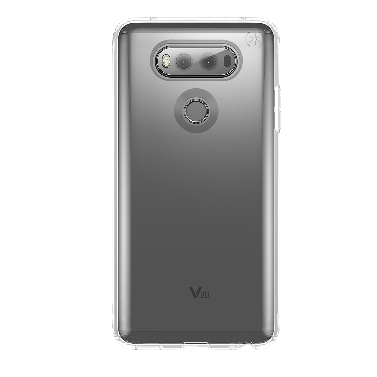 Speck Presidio Clear Cell Phone Case for LG V20 - Clear/Clear