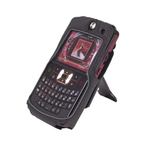 Body Glove - Case with Clip stand for Motorola Moto Q9h - Black