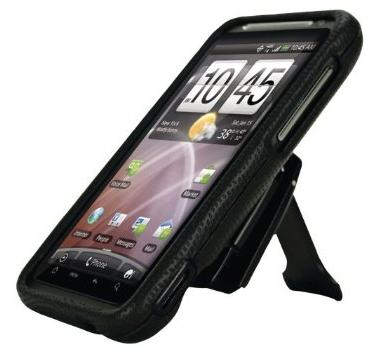 Body Glove Snap-on Case for HTC ThunderBolt - Black (9208501)