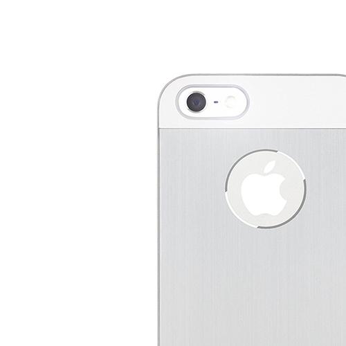 a46a45e0d46 Moshi iGlaze Armour Aluminum Case for Apple iPhone 5   5S   5SE - Silver