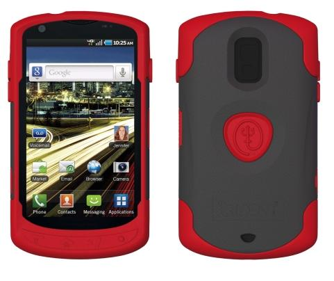 Trident - Aegis Case for Samsung Galaxy S Aviator SCH-R930 Cell Phones - Red