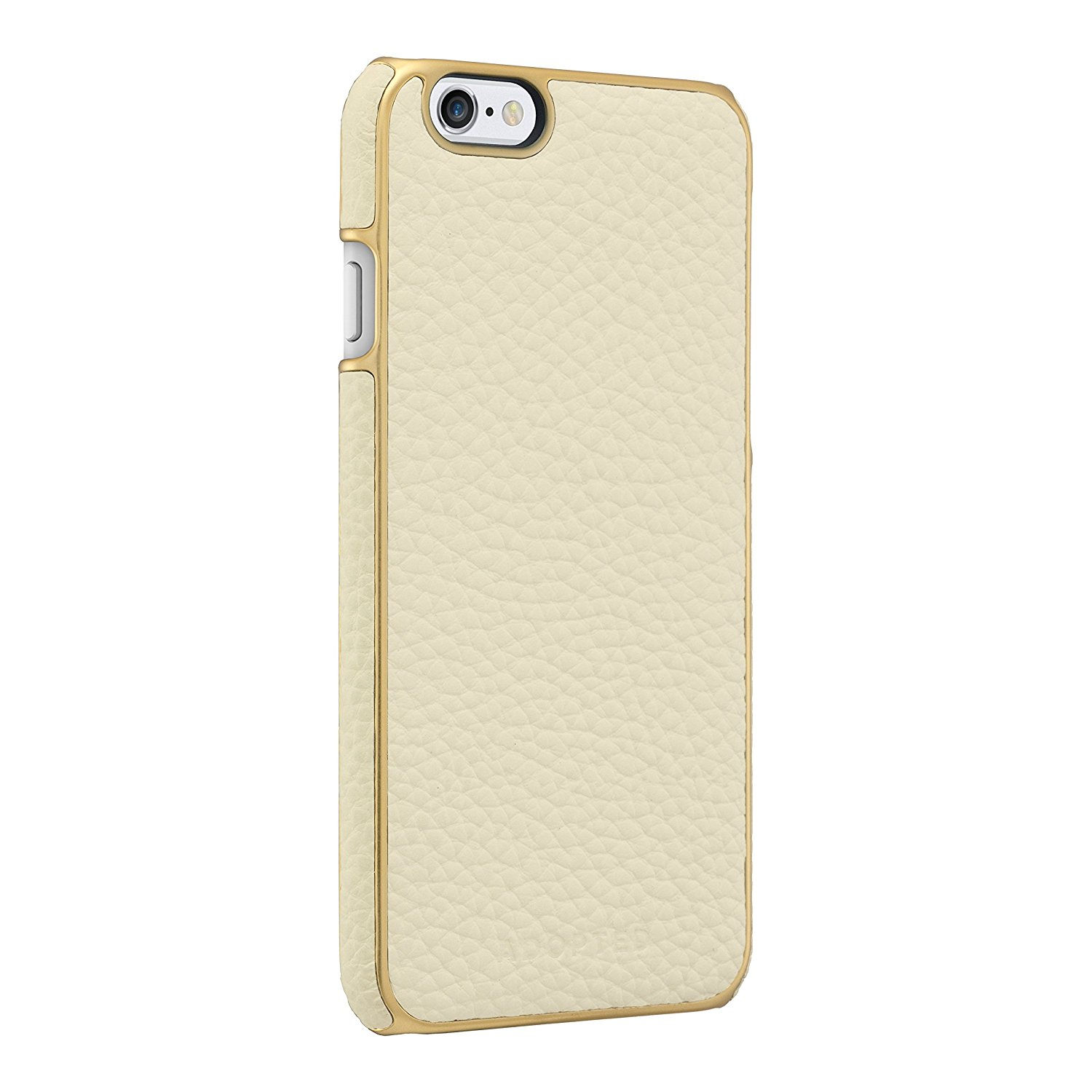 c7fbb3f7d13200 Adopted Leather Wrap Case for Apple iPhone 6 6s - White Gold