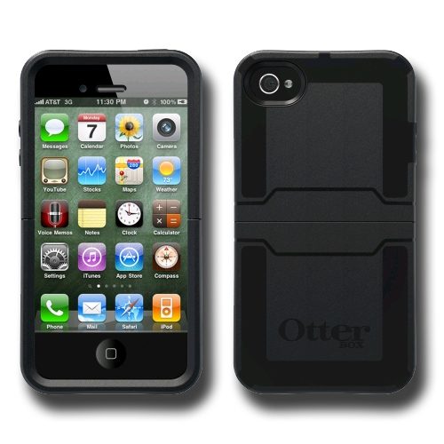 half off d324a ed360 OtterBox Reflex Case for Apple iPhone 4S / 4 (Black/Black)