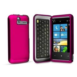 Technocel Soft touch Snap on Case for Sprint HTC Arrive - Pink