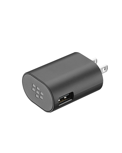 OEM BlackBerry USB Charger - Universal 5V Home Charger - 850 mA