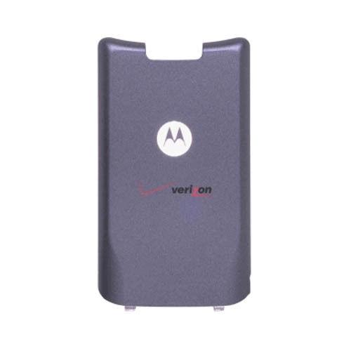 OEM Motorola KRZR K1M Battery Door Cover, Standard Size (Gray)