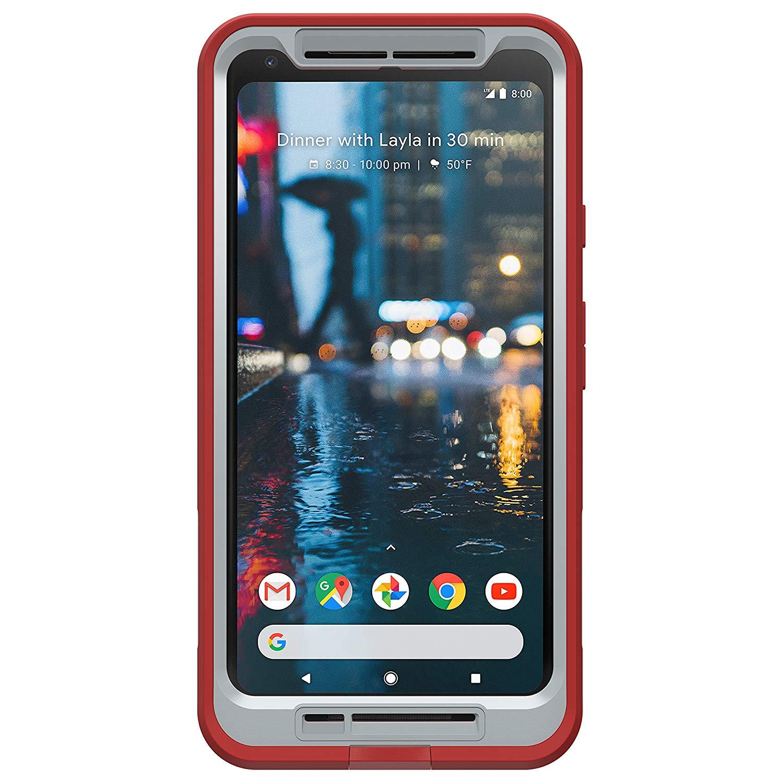 info for 39596 f0ec1 LifeProof fre Waterproof Case for Google Pixel 2 XL - Fire Run (Cherry  Tomato/Sleet/Molten Lava)