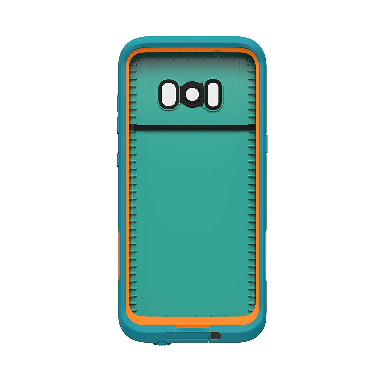 separation shoes 5f9ca 0bc92 LifeProof Fre Waterproof Case for Samsung Galaxy S8 - Sunset Bay (LIGHT  TEAL/MAUI BLUE/MANGO TANGO)