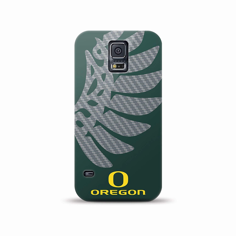 Mizco NCAA Oversized Snapback TPU Case for Galaxy S5 (Oregon Ducks)