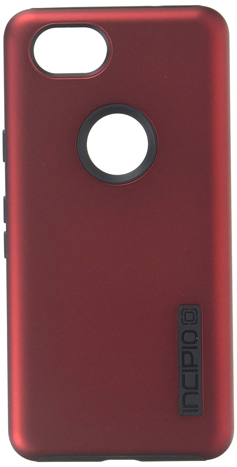 Incipio DualPro Case for Google Pixel 2 - Iridescent Red/Black