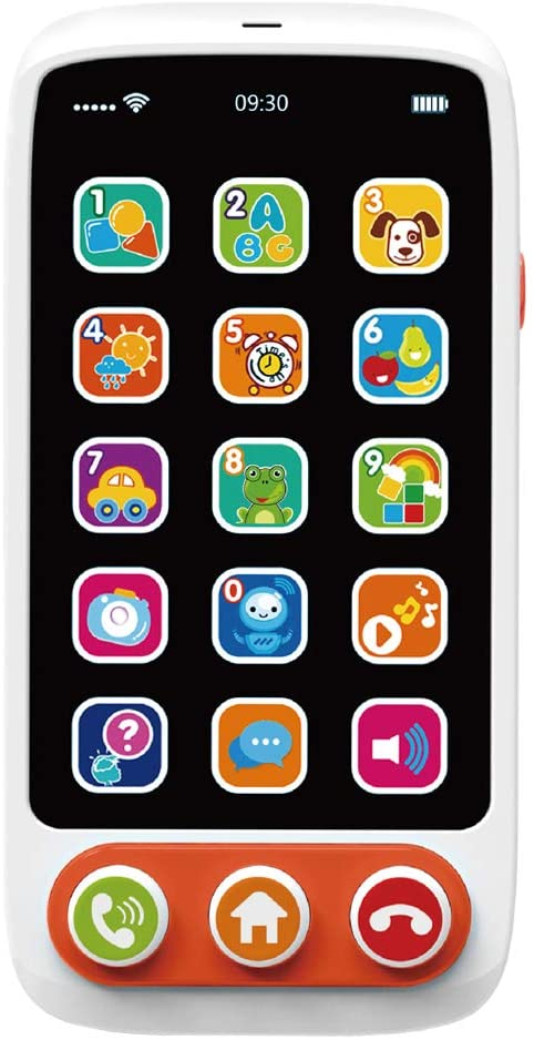Huanger Musical Phone Touch Toy for Toddlers & Babies Non-Toxic