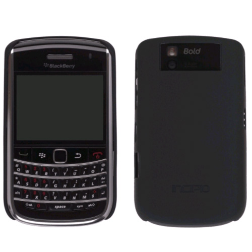 Incipio - Feather Snap-On Case for Blackberry Bold 9650 Cell Phones - Black