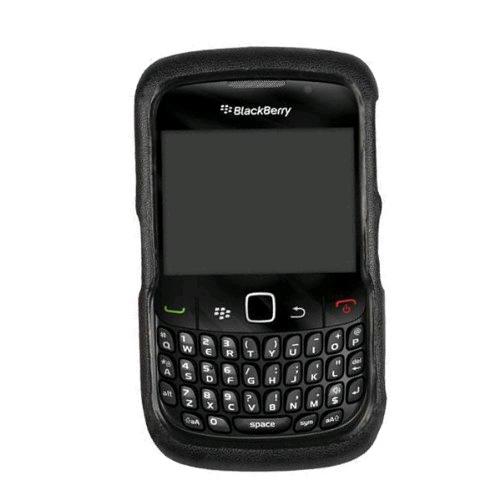 Technocel Leather Shield Case Cover for BlackBerry 8520/8530 Curve 2 (Black) - BB8530SLB-Z