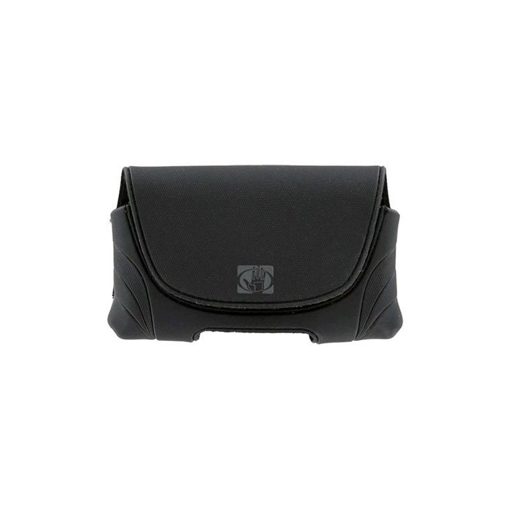 Body Glove Universal Horizontal Phone Pouch Leather Case for Medium Phones-Black
