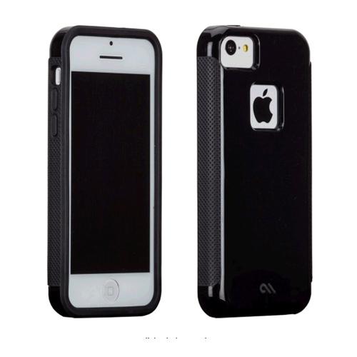 Case-Mate Pop! Case for Apple iPhone 5c - No Stand (Black/Black)