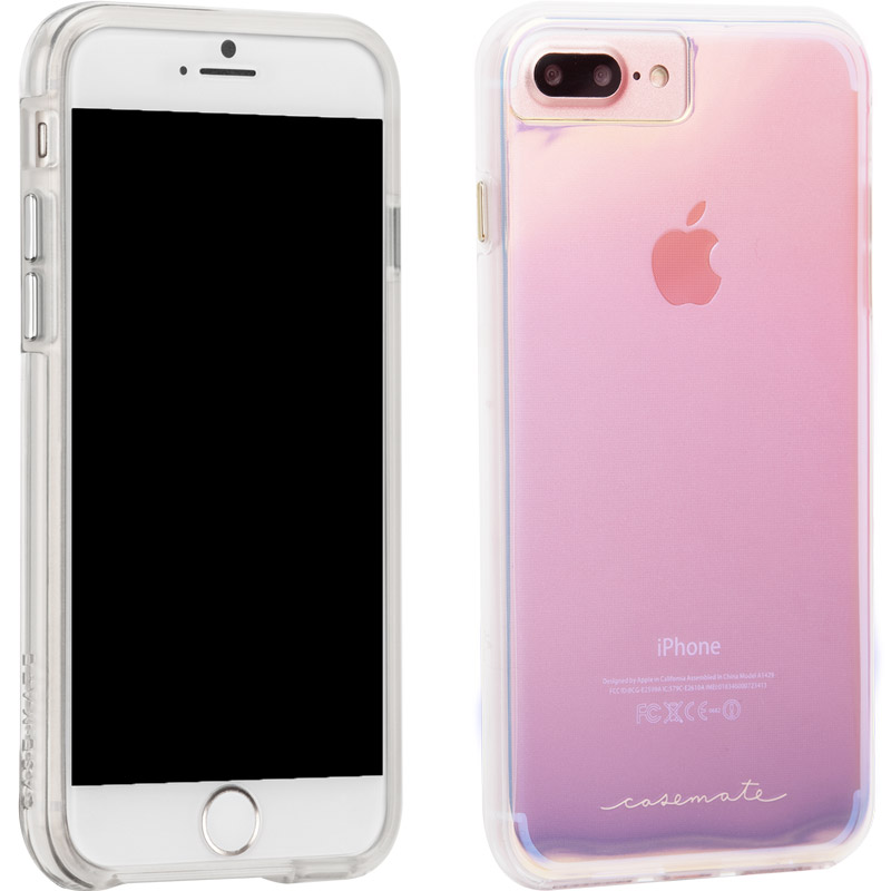 2b90694431b Case-Mate Naked Tough Case for iPhone 8 Plus 7 Plus 6s Plus 6 Plus -  Iridescent