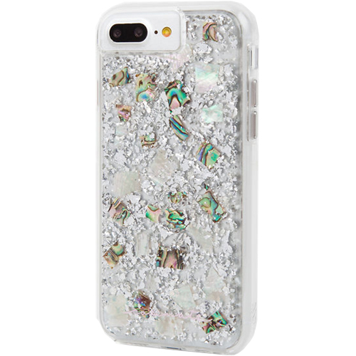 the best attitude 84bae b1f8c Case-Mate Karat Pearl Case for Apple iPhone 6/6s Plus, 7 Plus - Mother of  Pearl/Clear
