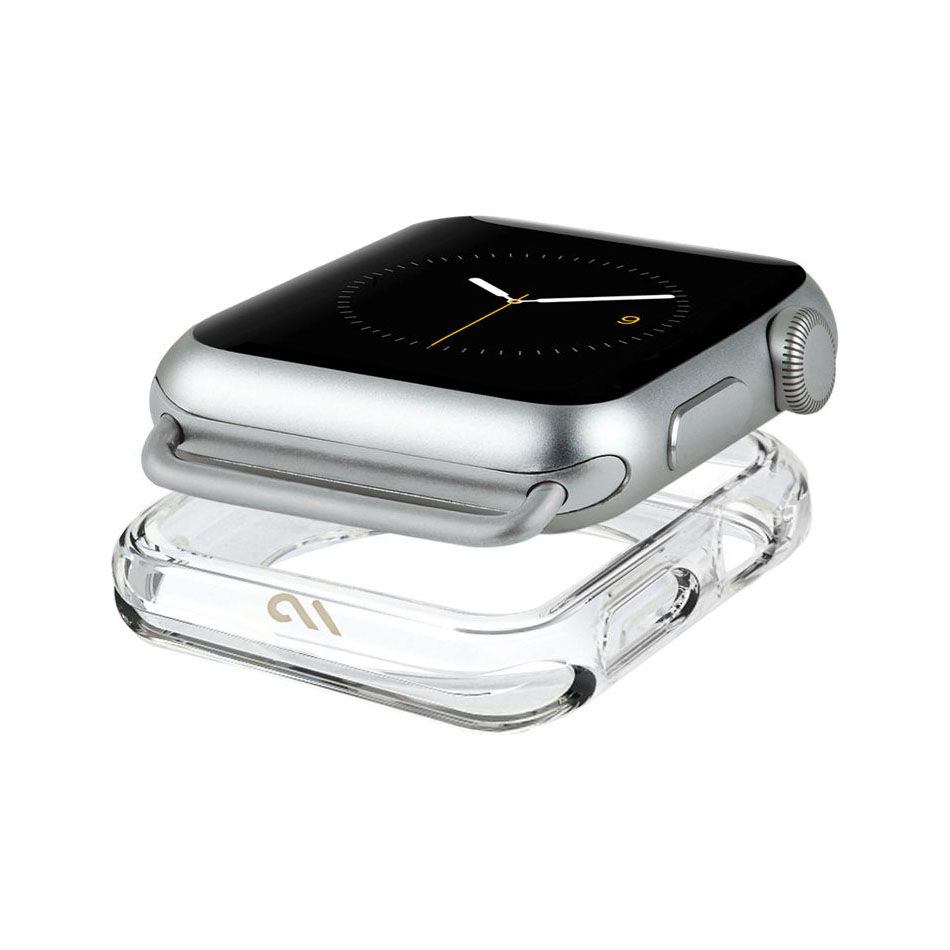 Case-Mate 38-40MM Naked Tough Bumper for the Apple Watch - Clear