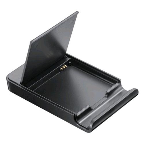OEM Samsung Spare Battery Charger / Media Stand for Samsung i500 (Black) - EBH973UVBA-Z
