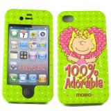 Sally Snoopy Peanuts Original Licensed Apple Iphone 4 Iphone 4s Face (ECDIPH4SNS08-Z)
