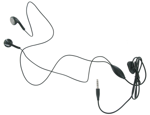 PCD Universal 3.5mm Headset with In-Line Mic - Black