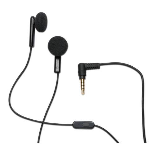 OEM HP Obsidian Stereo Headset 3.5mm FB206AA#AC3