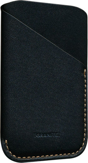 Granite Leather Sleeve Case for Palm Companion - Black