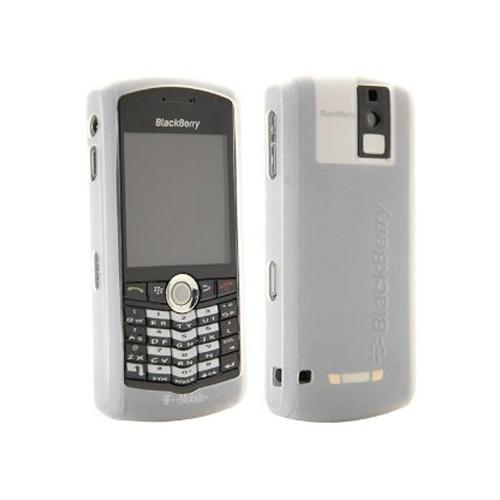 OEM BlackBerry 8100, 8100c Pearl Gel Case - White