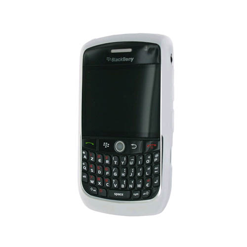 OEM RIM BlackBerry Rubberized Skin for Blackberry 8900 (White)