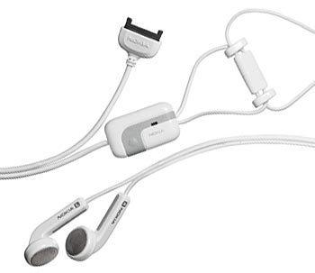 Nokia HS-3 Fashion Stereo Headset for 9500, 9300, 7250i, 7210, 6682, 6670, 6620, 6256i, 6255i, 6225, 6170, 6102, 6101