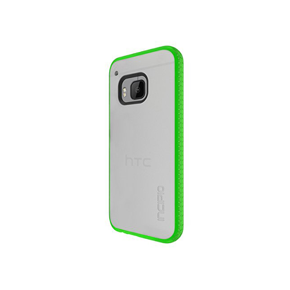 Incipio Shock Absorbent Octane Case for HTC One M9 - Frost/Neon Green