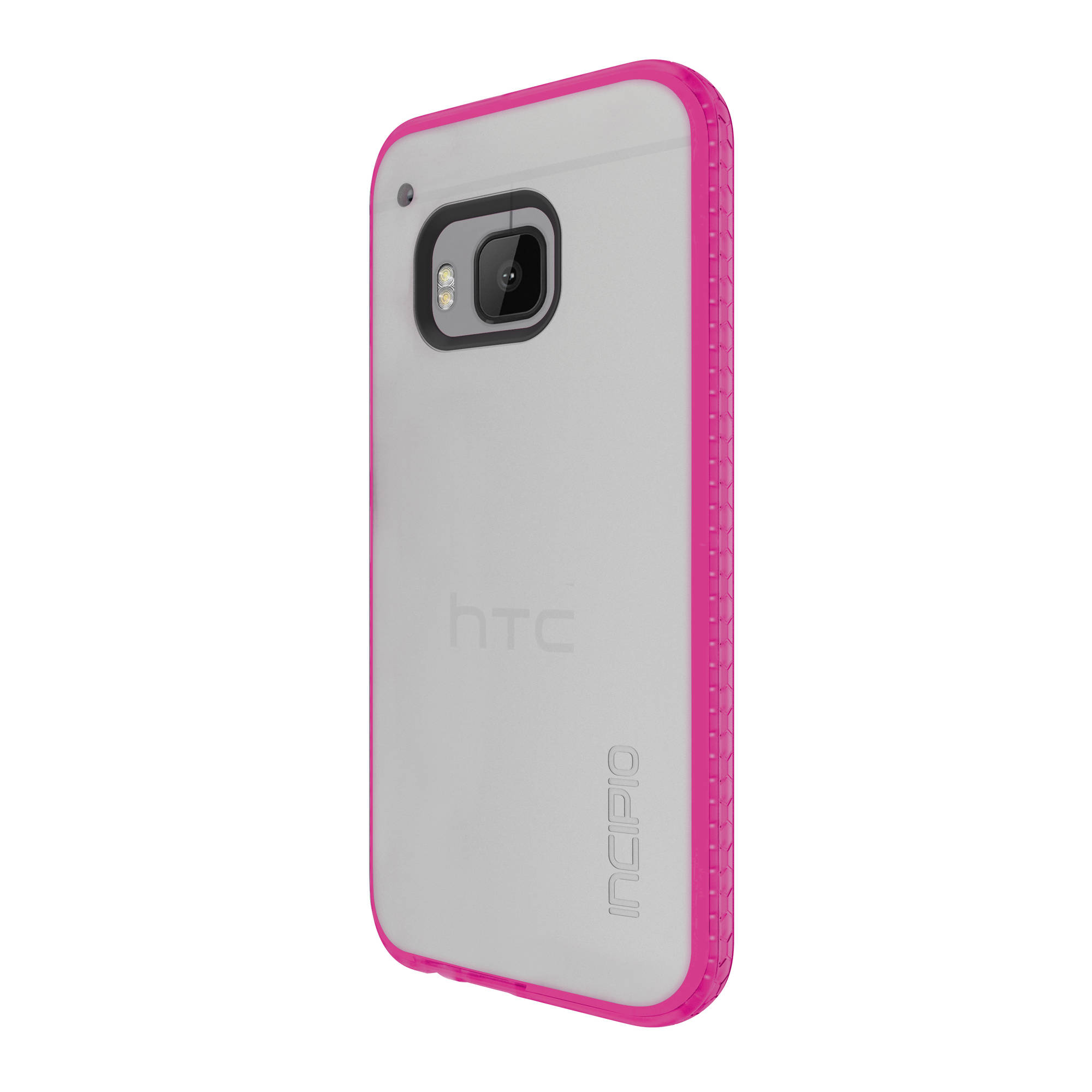 Incipio Octane Case for HTC One M9 - Frost/Neon Pink