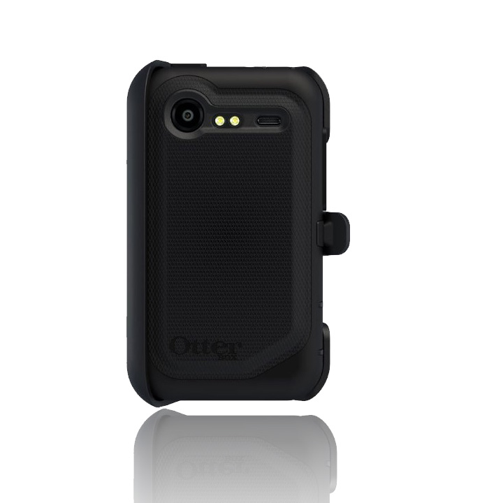 best sneakers da8a2 c6800 OtterBox - Defender Case for HTC Droid Incredible 2 6350 - Black