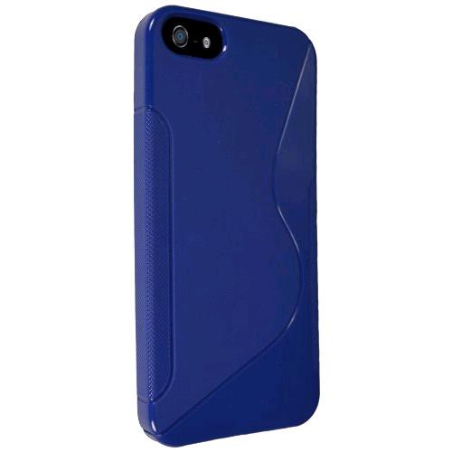 Technocel Solid Ying Yang Slider Skin Case Cover for Apple iPhone 5 (Blue) - IPH5SSYYBL-Z