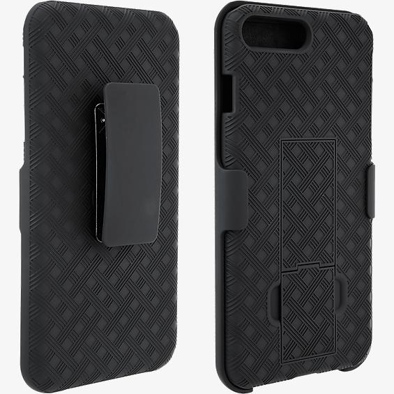 brand new 95e0e f9f0f Unlimited Cellular Kickstand Holster for Apple iPhone 7 Plus, 6s Plus, 6  Plus (Black)
