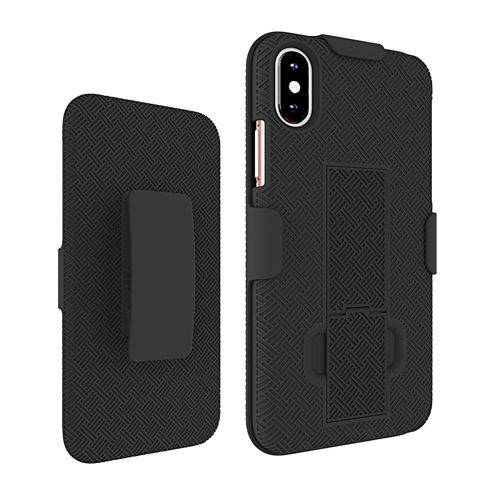KuKu Mobile Rubberized Shell Case Kickstand Holster - See more at: https://www.unlimitedcellular.com/KuKu-Mobile-Rubberized-Shell-Case-Kickstand-Holster-for-Apple-iPhone-X-Black_p_407513.html#sthash.vlrbBxW7.dpuf