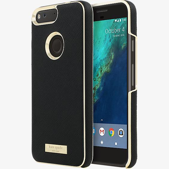promo code 016b0 1b83a kate spade new york Saffiano leather Wrap Case for Google Pixel XL ...
