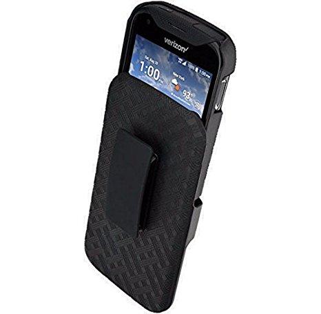 Verizon Kickstand Shell Holster for Kyocera Duraforce PRO E6810 - Black