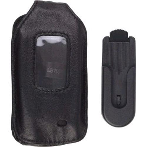 OEM UTStarcom Leather Case for UTStarcom CDM-7026 - Black