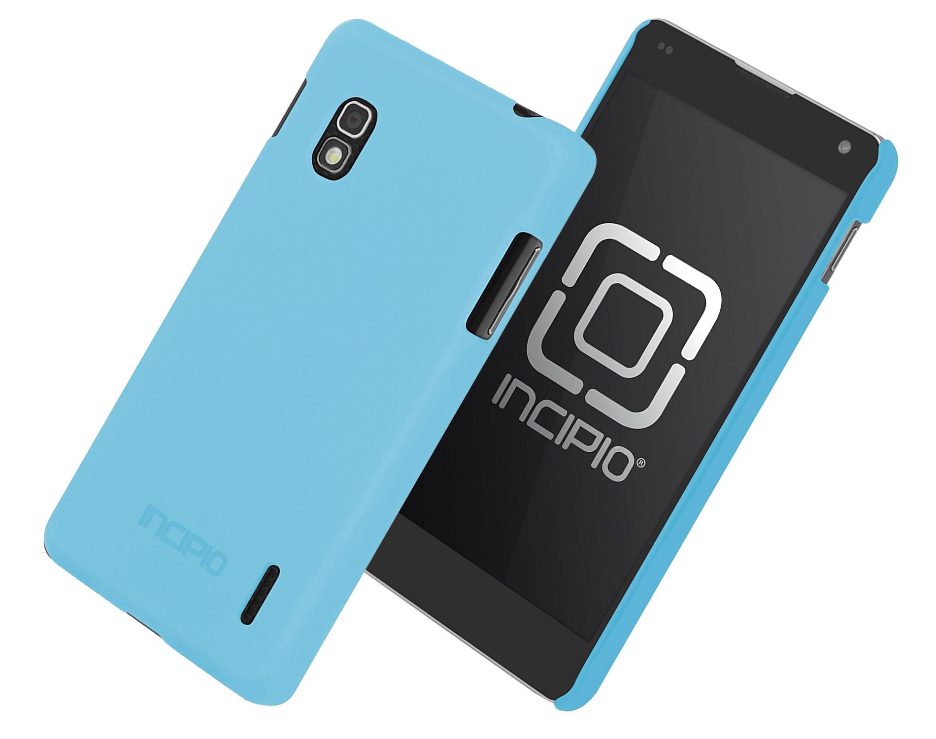 Incipio Technologies Feather Case for LG Optimus Sprint G LS970 (Neon Blue) - LGE-165